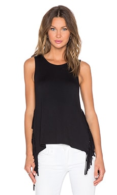 Riller & Fount Romero Fringe Tank in Black