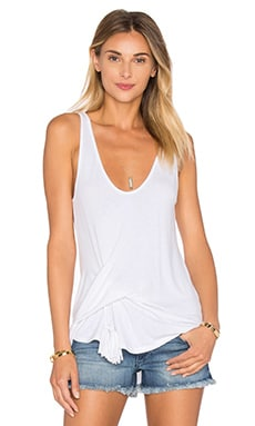 Layne Tank in White