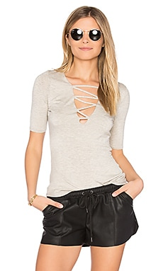 Bobbie Criss Cross Top in Honeycomb