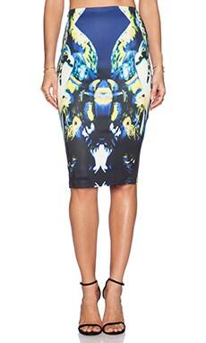 Ringuet Desire Midi Skirt in Multi