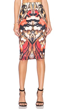 Ringuet Lucidity Pencil Skirt in Print