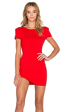 RISE OF DAWN Sara Mini Dress in Red
