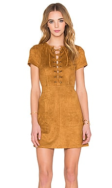 RISE OF DAWN Love Child Dress in Camel
