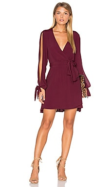 RISE OF DAWN Gifted Dress in Plum