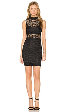 RISE OF DAWN Entrapment Dress in Black