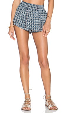 RISE OF DAWN Istanbul Blue's Short in Blue Tribal