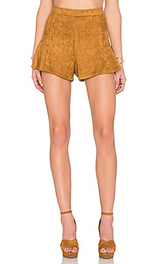 RISE OF DAWN Coastline Shorts in Camel