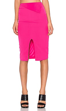 RISE OF DAWN Go All Night Skirt in Fuschia