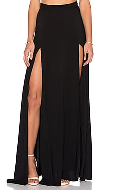 RISE OF DAWN Ranger Maxi Skirt in Black