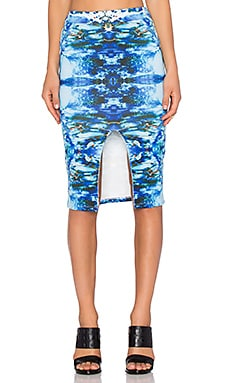 RISE OF DAWN Crystal Eyes Skirt in Blue