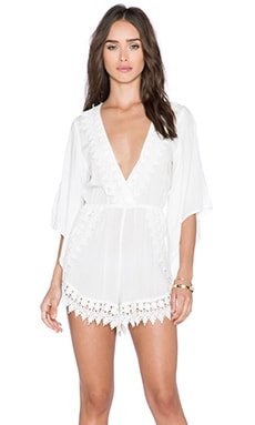RISE OF DAWN Ever So Sweet Jumpsuit in White
