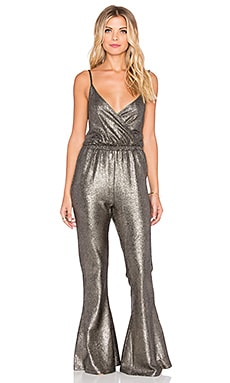 RISE OF DAWN Metallic Dreams Jumpsuit in Metallic