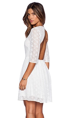 Rebecca Minkoff Lacey Dress in White