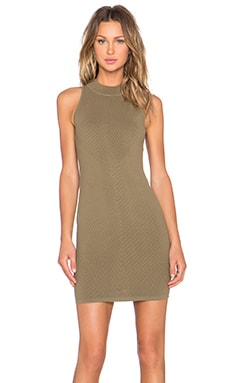 Rebecca Minkoff Val Dress in Olive