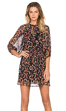Rebecca Minkoff Shadow Dress in Butterfly Multi