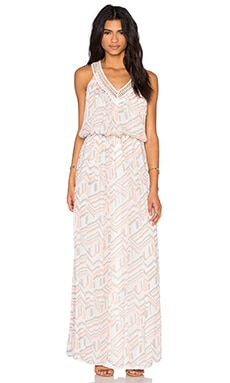 Rebecca Minkoff Simona Dress in Geo Print Multi