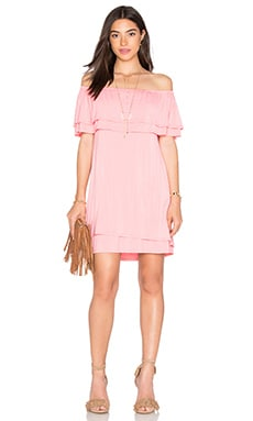Rebecca Minkoff Dev Dress in Rose Pink