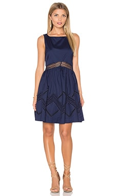 Rebecca Minkoff Tess Mini Dress in Indigo