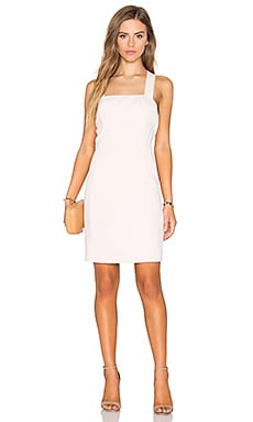 Lysette Dress in Pale Blush