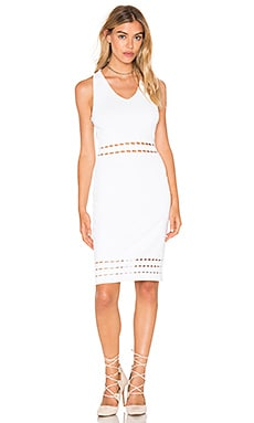 Rebecca Minkoff Charly Dress in Chalk