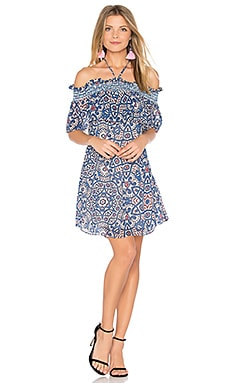 Gerry Dress in Pasadena Pavement Print