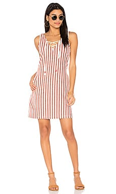 Monica Dress in Baja Stripe