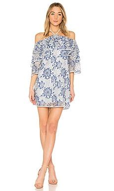 Купить Мини платье dena - Rebecca Minkoff, Кружево, Китай, Синий
