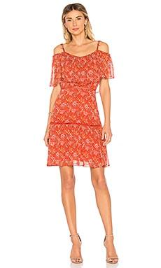 Купить Платье lynne - Rebecca Minkoff, Мини, Китай, Красный