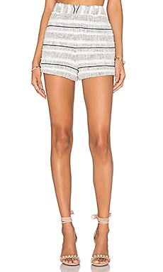 Rebecca Minkoff Antiope Short in Black & White