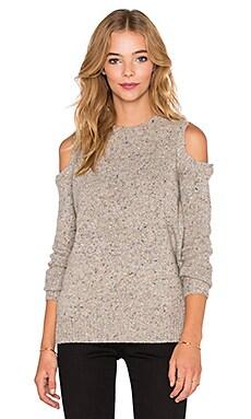 Rebecca Minkoff Page Sweater in Cream