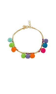 BRACELET POMPOMS SAVANNA
