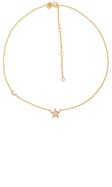 Starry Night Necklace in Gold