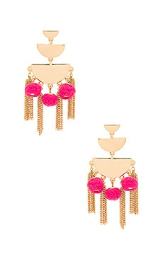 Triple Tier Chandelier Earring