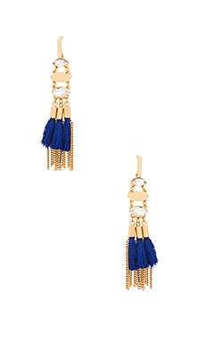 Tassel And Fringe Chandelier Earring