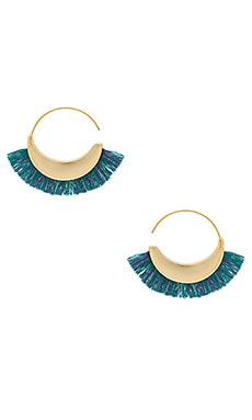 Thread Fringe Small Hoops