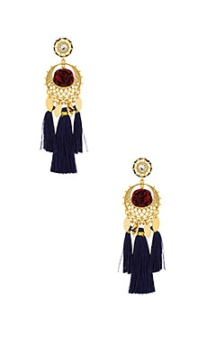 Tassel and Pom Earrings