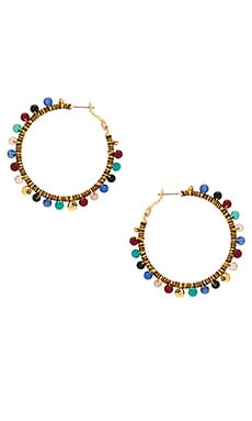 Morocco Hoop Earrings