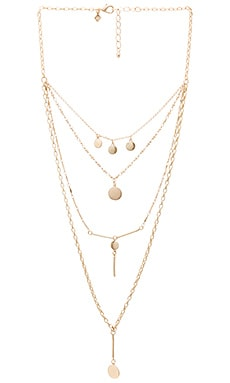 Circle & Bar Layered Necklace Rebecca Minkoff $78 NEW ARRIVAL