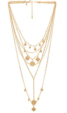 Etched Charm Statement Necklace Rebecca Minkoff $55