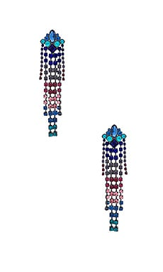 Gemma Crystal Fringe Earrings Rebecca Minkoff $41