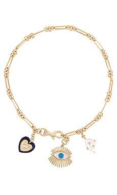 Evil Eye Charm Necklace Rebecca Minkoff $138 BEST SELLER