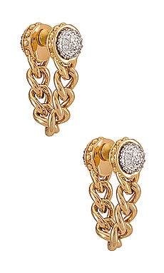 Swag Chain Earrings Rebecca Minkoff $68