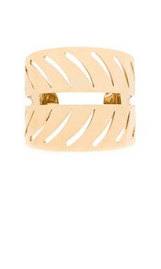 Rebecca Minkoff Leaf Cuff in Gold