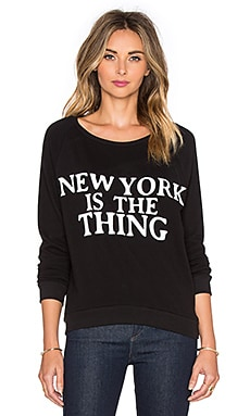 Rebecca Minkoff New York Sweatshirt in Black