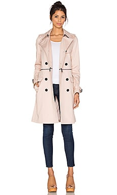 Rebecca Minkoff Melissa Trench in Nude Pink