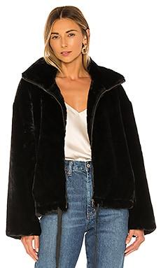 Faux Fur Brigit Jacket Rebecca Minkoff $168