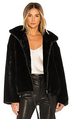 Faux Fur Brigit Jacket Rebecca Minkoff $258
