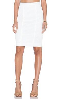 Rebecca Minkoff Della Skirt in White