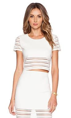 Rebecca Minkoff Callie Top in Marshmallow