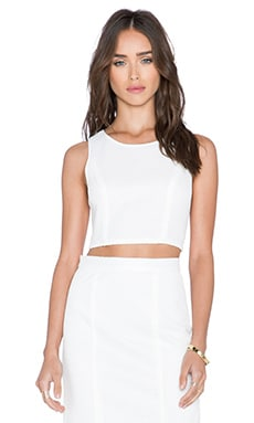 Rebecca Minkoff Zoeg Top in White